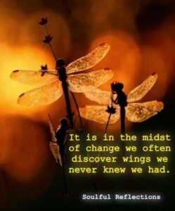 Finding Strength thru Change