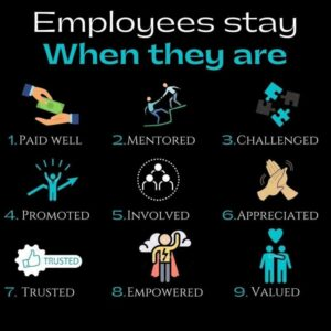 Recognize how to value employees