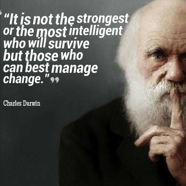 Darwin Quotes: Compass Career Management
